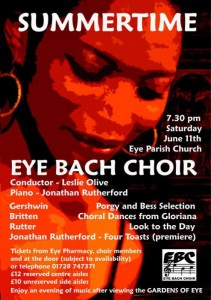 Eye Bach Choir Posters